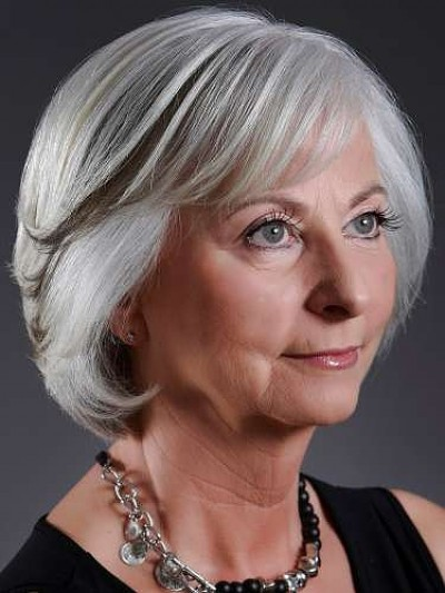 15 Stunningly Beautiful Short Hairstyles For Women Over 50