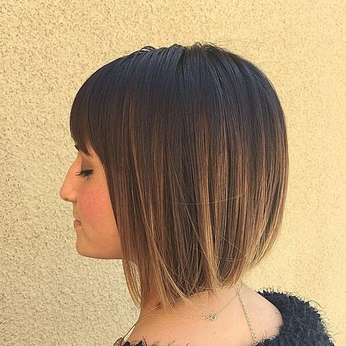20 Most Popular Stacked Bob Haircuts With Bangs