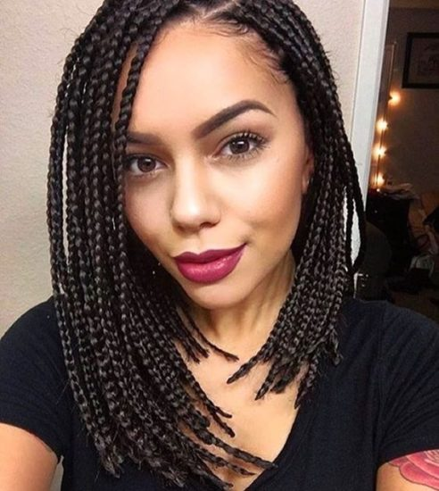 25 Unique Ideas Of Black Braided Hairstyles For Women