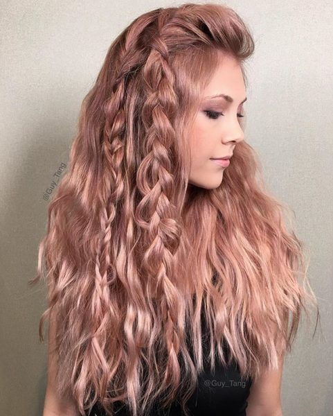 Braided Rose Gold